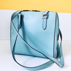 Barbara Milano Tiffany Blue Shoulder Bag Purse
